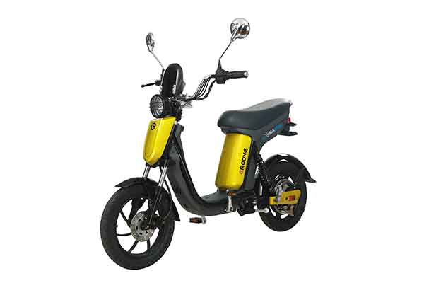 Electric pedal moped Evolts model design progress 5