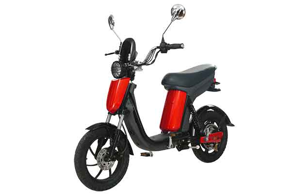 Electric pedal moped Evolts model design progress 4