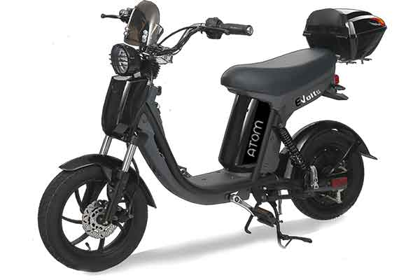 Electric pedal moped Evolts model design progress 9