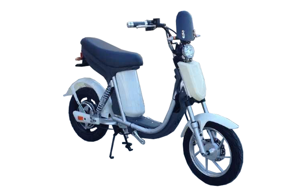 Electric pedal moped Evolts model design progress 2
