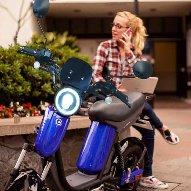 Evolts V3 get the latest street legal electric moped 3
