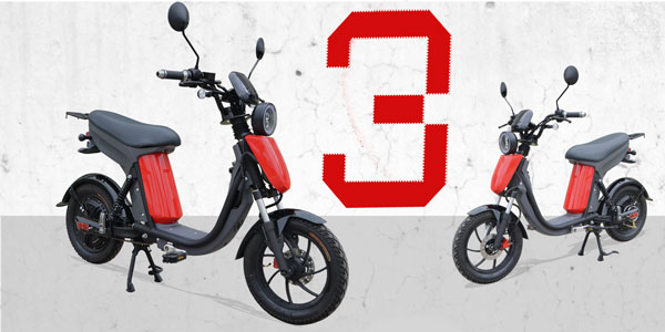 Latest Electric mobility scooters Evolts O3 Series 3 2